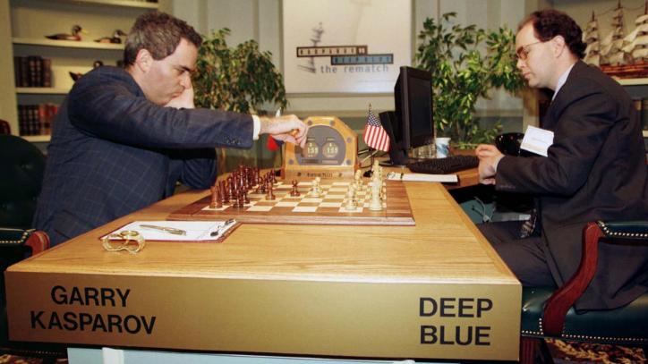 Le jour où Gary Kasparov a perdu contre Deep Blue