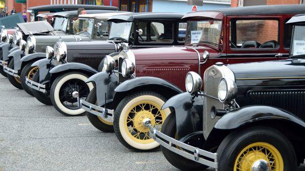 L'essor des ventes aux enchères des voitures d'occasion